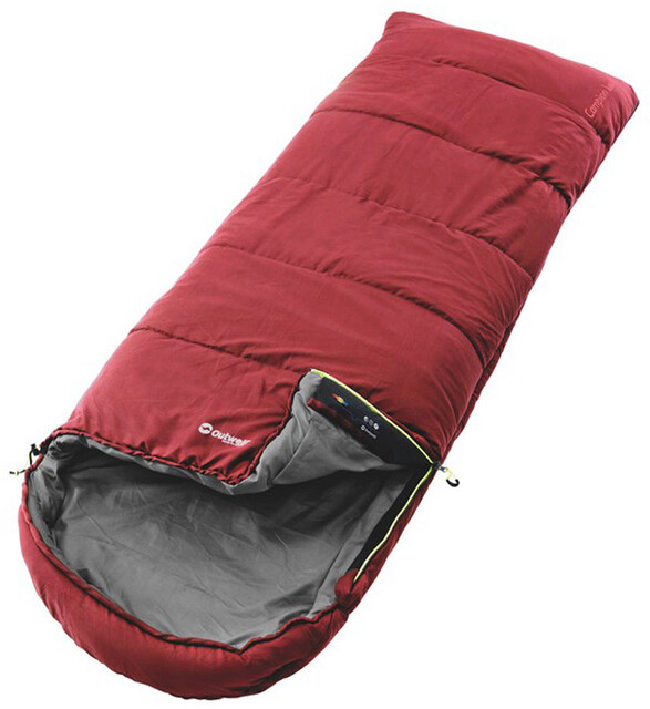 Outwell Campion Lux Sleeping Bag Röd